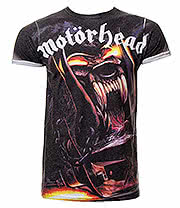 Motorhead Orgasmatron Premium T Shirt (Multi Coloured)