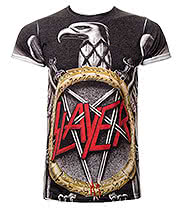 Slayer Eagle Premium T Shirt (Multi Coloured)