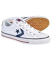 Converse Cons Star Player Shoes (White/Blue)