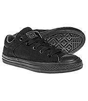 Converse All Star Kids High Street Shoes (Black Thunder)