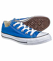 Converse All Star Ox Shoes (Cyan Space Blue)