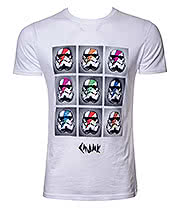 Chunk Clothing Star Wars Pop Art Trooper T Shirt (White)