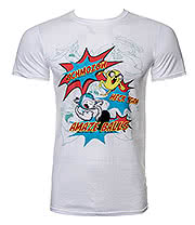 Adventure Time Amazeballs T Shirt (White)