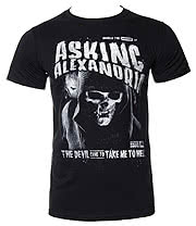 Asking Alexandria Reaper T Shirt (Black)