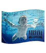 Nirvana Nevermind Flag