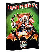 Iron Maiden 1st 10 Years Flag