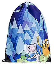 Adventure Time Jake & Finn Mountain Gym Bag