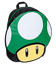 Nintendo 1 Up Mushroom Shape Backpack (Green)