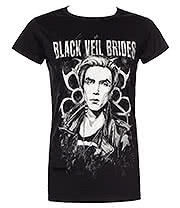 Black Veil Brides Fan Art 2 Skinny T Shirt (Black)