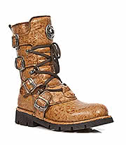 New Rock Boots Style M.1473-S10 Boot (Tan)