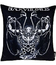 Black Veil Brides Demon Rises Cushion (40cm x 40cm)