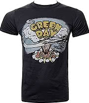 Green Day Dookie T Shirt (Grey)
