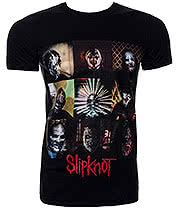 Slipknot Blocks T Shirt (Black)