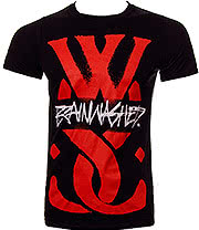 While She Sleeps Brainwashed T Shirt (Black)