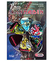 Iron Maiden Killers Guitar Picks (6 Pack)