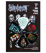 Slipknot Masks Guitar Picks (6 Pack)