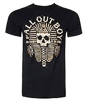 Fall Out Boy Pharaoh T Shirt (Black)