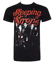 Sleeping With Sirens Brick T Shirt (Black)