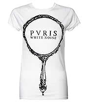 PVRIS White Noise Skinny T Shirt (White)