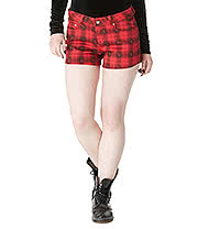 Jawbreaker Skull Shorts (Black/Red)