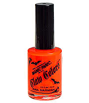 Manic Panic Electric Lava Claw Colors Neon Nail Varnish (Orange)