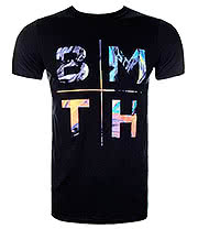 Bring Me The Horizon Colours T Shirt (Black)
