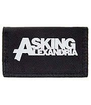 Asking Alexandria Logo Wallet (Black)