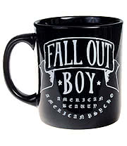 Fall Out Boy American Beauty Mug (Black)