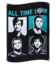 Official All Time Low Runaways Flag (Multi)