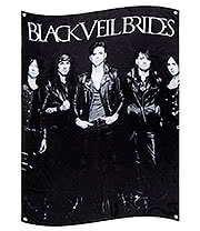 Official Black Veil Brides Photo Flag