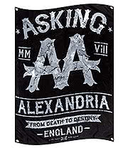 Official Asking Alexandria Black Label Flag (Multi)