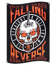 Official Falling In Reverse Straight To Hell Flag (Multi)