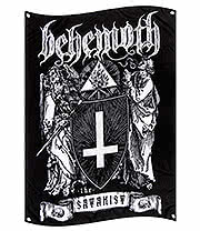 Official Behemoth The Satanist Flag (Multi)