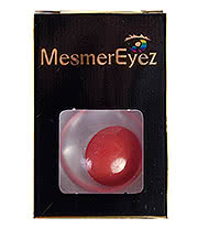 MesmerEyez Blind Contact Lenses 1 Day Wear (Red)