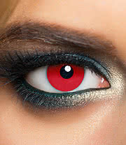 MesmerEyez 1 Day Mini Sclera Contact Lenses (Red)