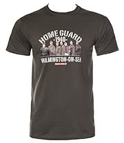 Dad's Army Home Guard T Shirt (Charcoal)