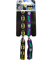 DC Comics Batman Festival Wristbands (Black/Purple)