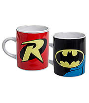 DC Comics Batman Mini Mugs (2 Pack)