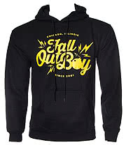 Fall Out Boy Bomb Hoodie (Black)