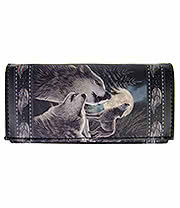 Nemesis Now Wolfsong Purse (Black)