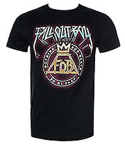 Fall Out Boy Retro T Shirt (Black)