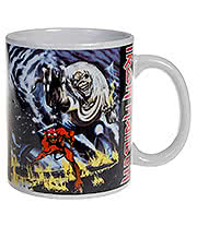 Iron Maiden Beast Mug (White)