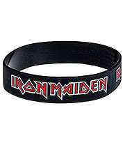 Iron Maiden Tails Wristband (Black/Red)
