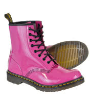 Dr Martens 1460 Boots (Patent Pink)