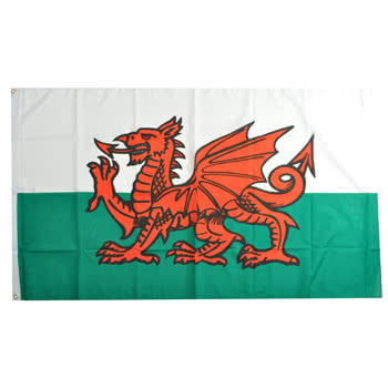 Blue Banana Wales Flag