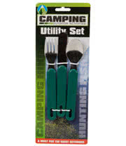 Blue Banana 3 Piece Camping Utility Set (Green)