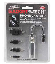 Emergency Mobile Phone Charger With 4 Adaptors