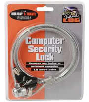 Computer Security Lock With 2 Keys