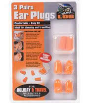 Blue Banana Festival Ear Plugs (3 Pairs)