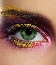 EDIT 90 Day Coloured Contact Lenses (Mystic Green)